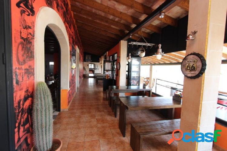 Restaurante a pleno rendimiento de 800 m2 construidos L-310