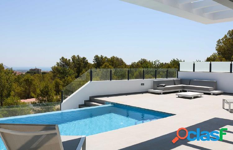 Villas individuales con piscina, y, garaje, lavandería