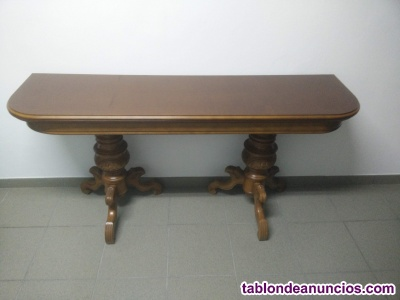 Se vende mesa de salón o comedor, plegable, abatible