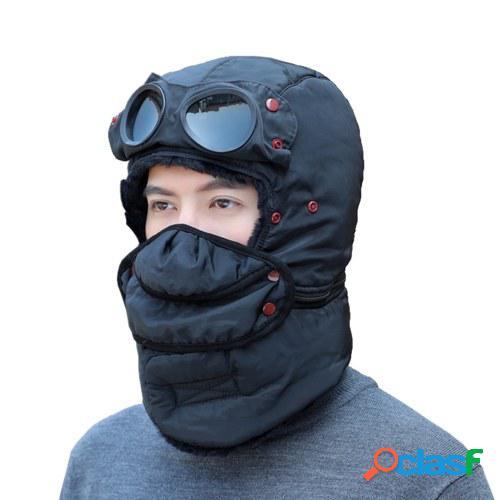 Sombrero cálido de invierno a prueba de viento Sombrero de
