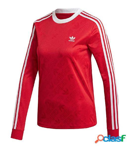 Camiseta Adidas Str Ls Tee Mujer Rojo 42 Rojo