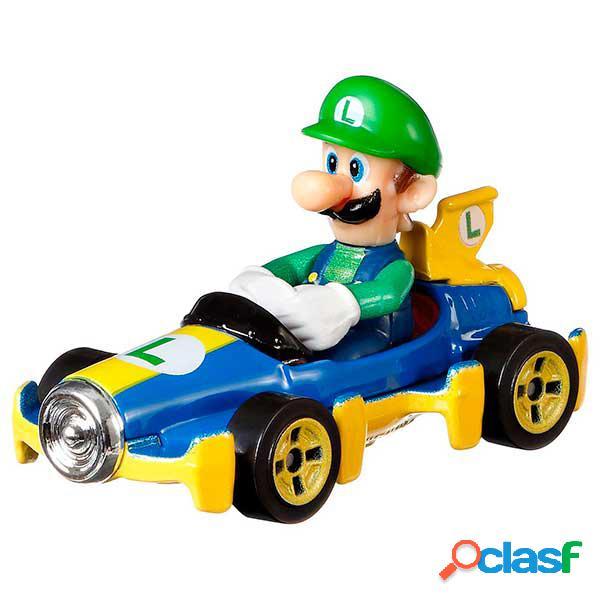 Hot Wheels Coche Mario Kart Luigi