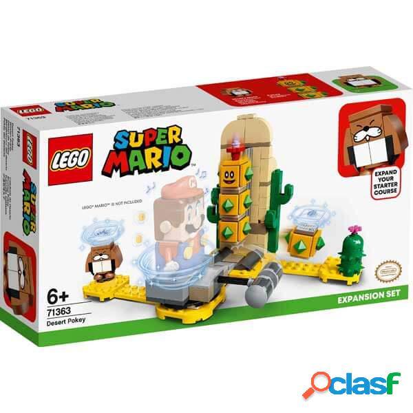 Lego Super Mario 71363 Set de Expansi?n: Pokey del Desierto