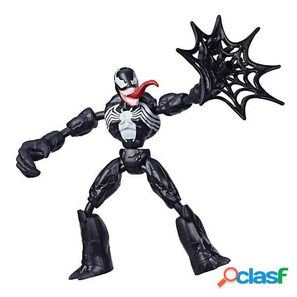 Spiderman Figura Venom Bend and Flex 15cm