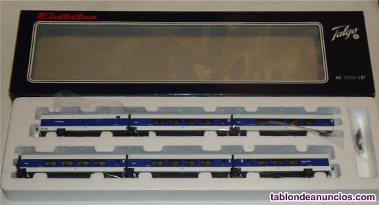 Electrotren h0, talgo pendular grandes líneas ref.  k,