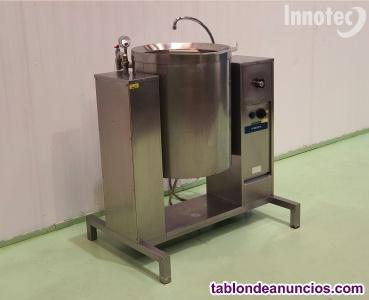 Marmita de coccion electrica de 200 litros metos con