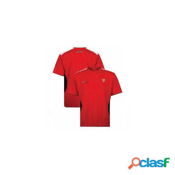 Camiseta hombre Ferrari Fernando Alonso R rojo Tallas S M L