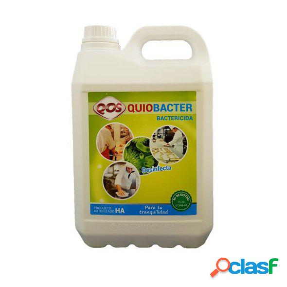 Limpiador desinfectante bactericida QUIOBACTER 5L. REGISTRO