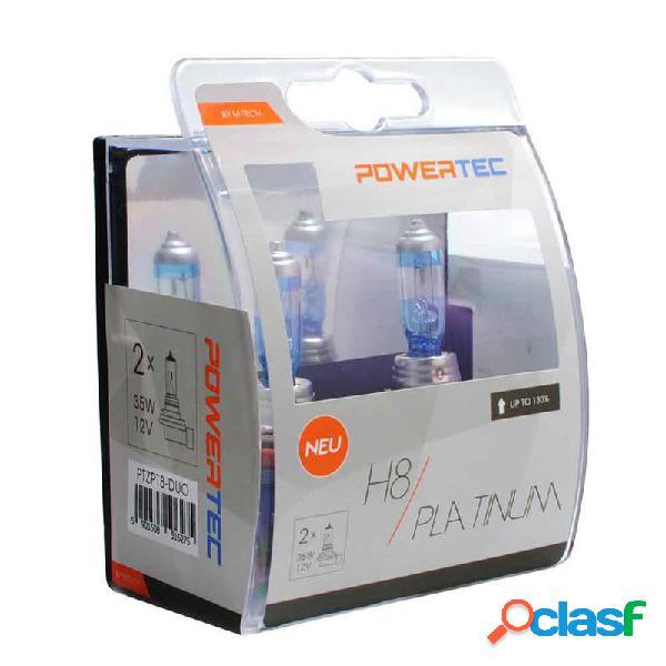 PTZPT8-DUO - Powertec Platinum +130% H8 12V DUO