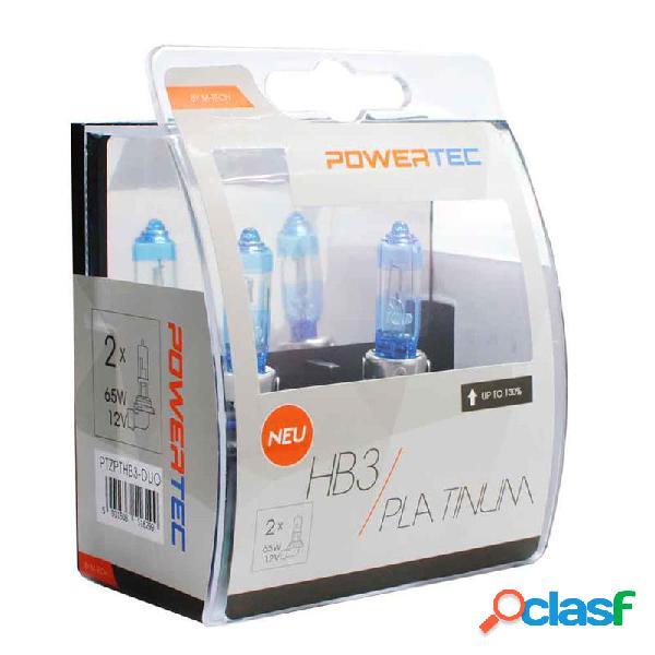 PTZPTHB3-DUO - Powertec Platinum +130% HB3 12V DUO