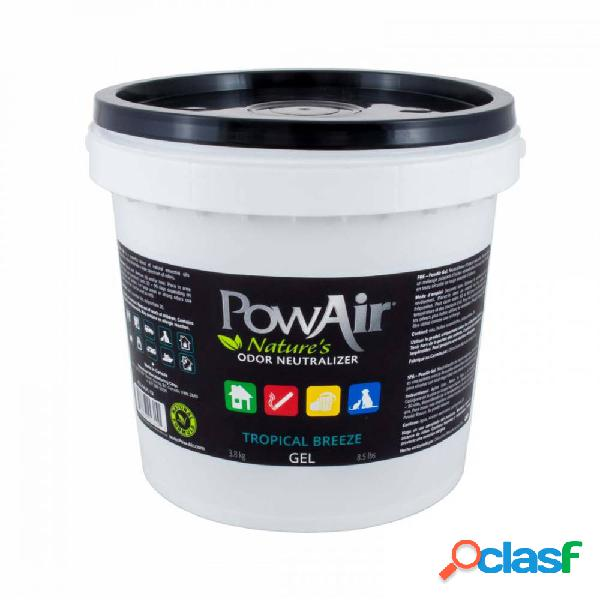 PowAir Gel Neutralizador de Olores 3.8 Kg. Tropical Breeze