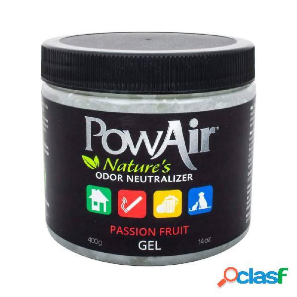 PowAir Gel Neutralizador de Olores 400 gr. Passion Fruit