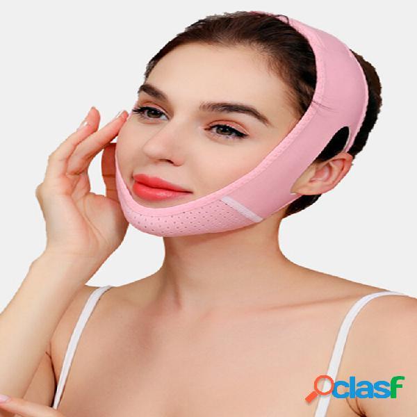 V-Face Sleep Face Mascara Doble mentón fino transpirable