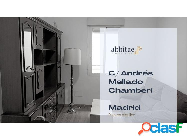 Piso 3 habitaciones Alquiler Madrid