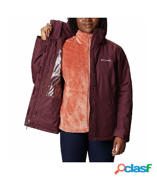 Chaqueta Columbia Bugaboo™ II Fleece Mujer Burdeos XL
