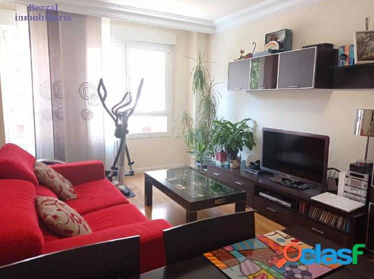 Piso de tres habitaciones en Logroño con garaje opcional