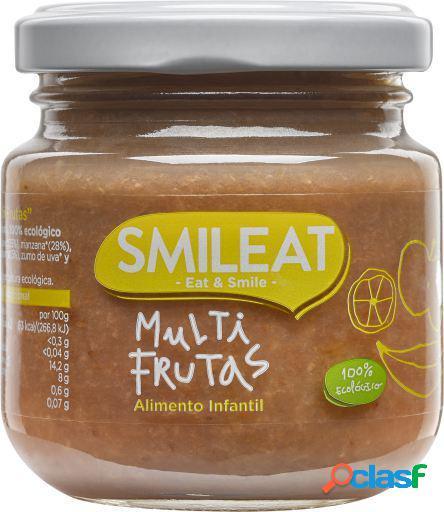 SMILEAT Tarrito de Multifrutas Ecologico 130 gr 2x130 gr
