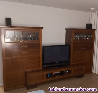 Vendo muebles salón madera maciza