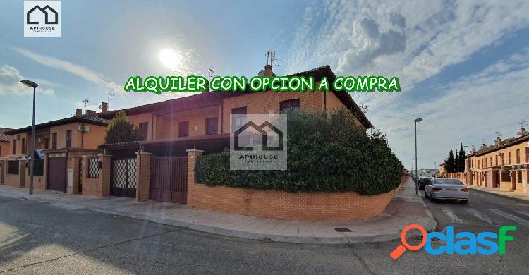 APIHOUSE ALQUILER CON OPCION A COMPRA CHALET PAREADO EN