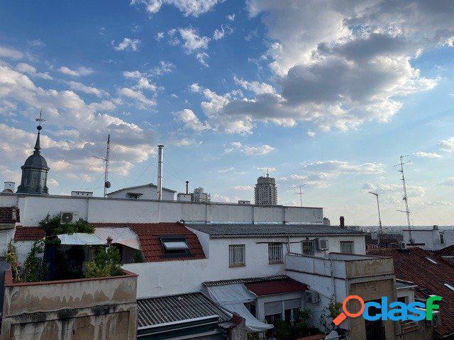 Estudio totalmente reformado en el Centro de Madrid, barrio