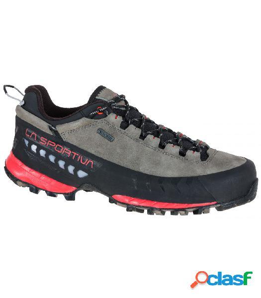 Zapatillas La Sportiva Tx5 Low Gtx Gris-Rosa Mujer 40.5