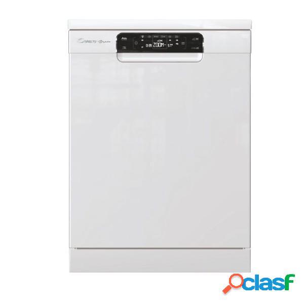Lavavajillas Libre Instalación - Candy CDPMN4S620PW 43 dB
