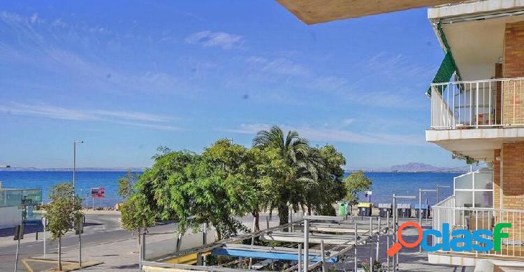 Apartamento primera línea Santa Pola frente al Puerto