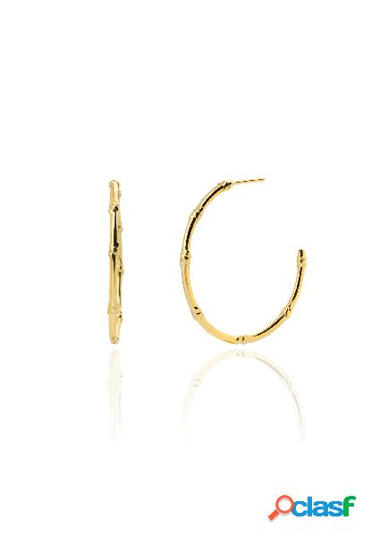 BIG KNOTS gold earrings