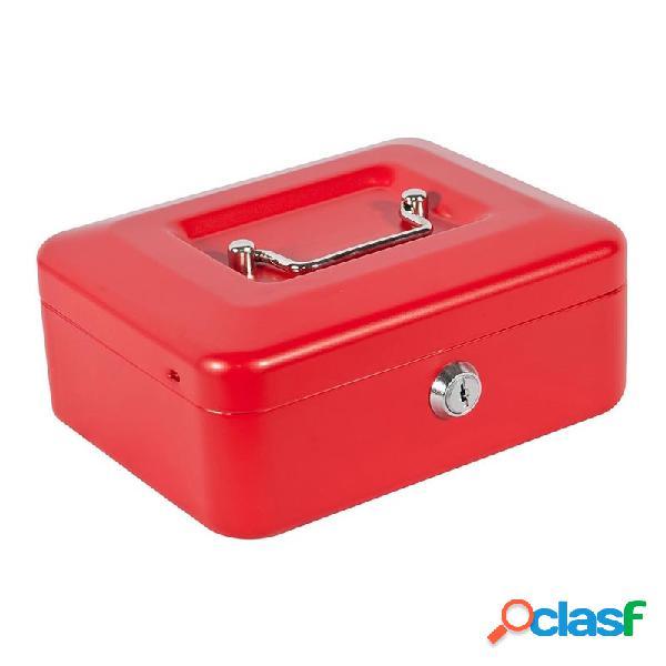 Caja de caudales joma super 1 rojo 15,5 x 8 x 12 cm