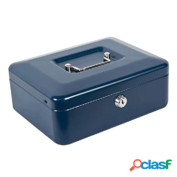 Caja de caudales joma super 2 azul 20 x 9 x 15,5 cm