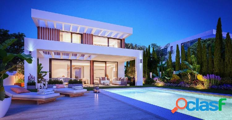 Mijas - Villa de lujo 3 dormitorios Piscina Garaje Jardín