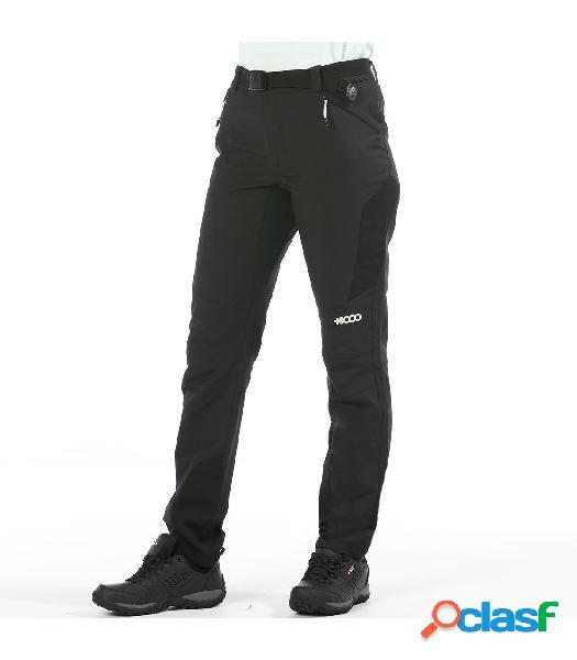Pantalones +8000 Tea 005 Mujer Negro XL