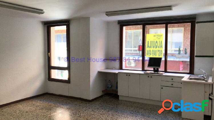 Oficina en alquiler en pleno centro de León
