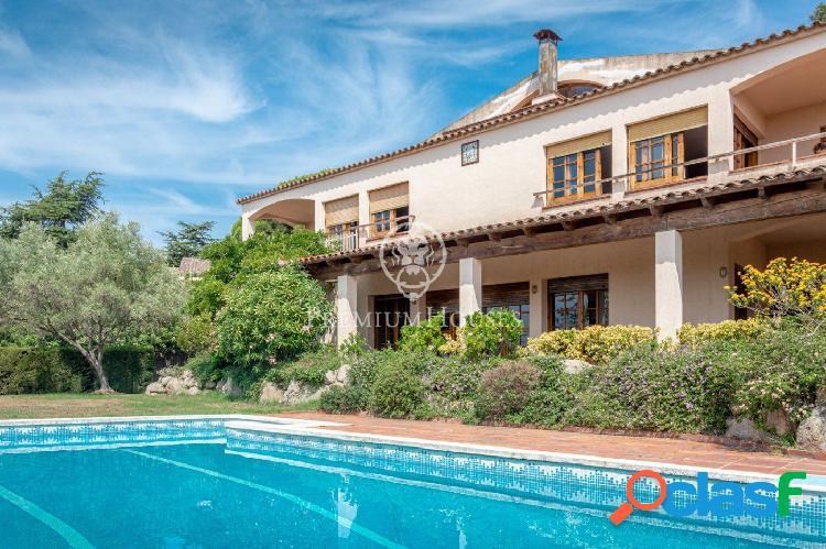 Casa en venta con vistas al Mar en Cabrils