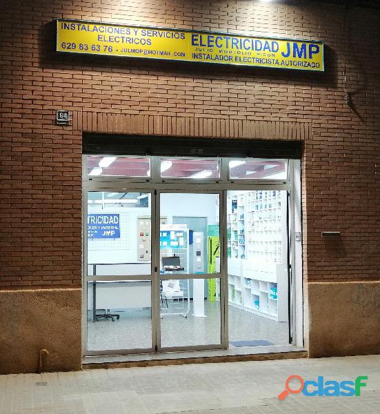Electricista Instalador Autorizado en Valencia con servicio
