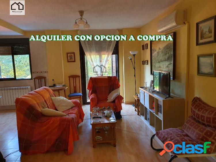 ALQUILER CON OPCION A COMPRA LUMINOSO PISO EN HUMANES.PRECIO