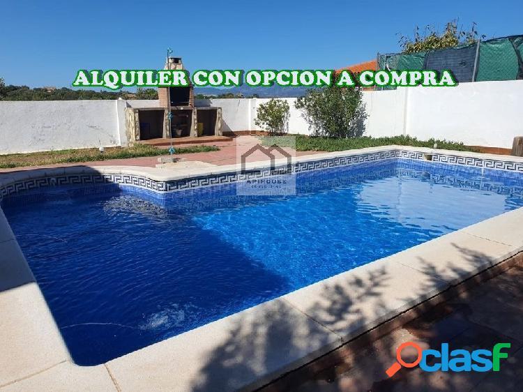 APIHOUSE ALQUILER CON OPCION A COMPRA CHALET INDEP. EN EL