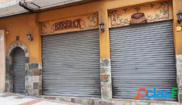 Bar en venta o alquiler proximo a la plaza de San Pedro
