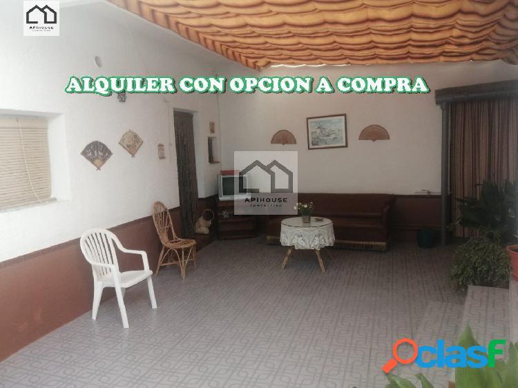 ALQUILER CON OPCION A COMPRA CASA DE PUEBLO. PRECIO INICIAL