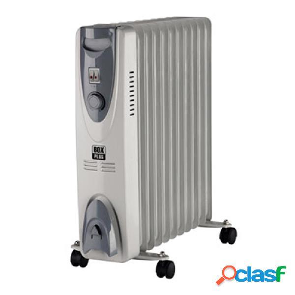 Radiador de aceite box plus 2000w 9 elementos