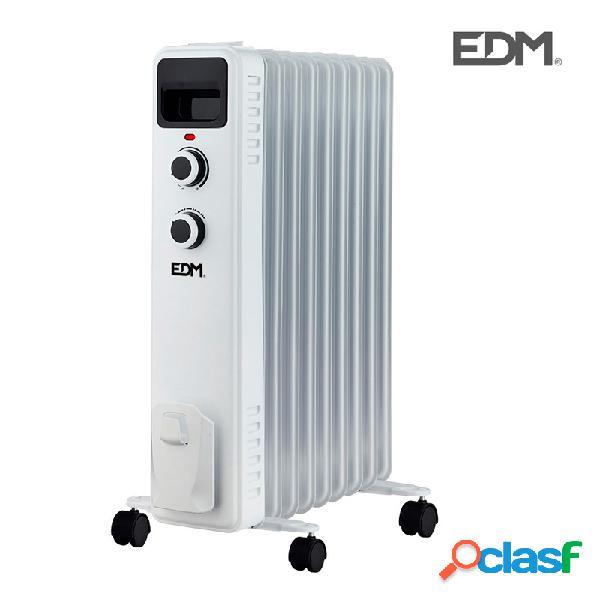 Radiador de aceite edm 2000w 9 elementos