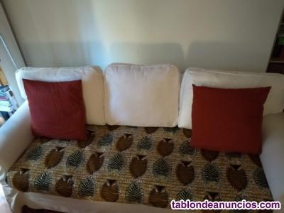 Vendo sofá cama de 3 plazas Ikea modelo Ektorp