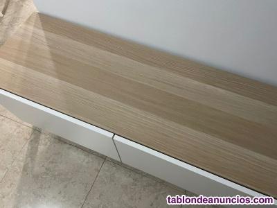 MUEBLE TV CON CAJONES 120x41x48