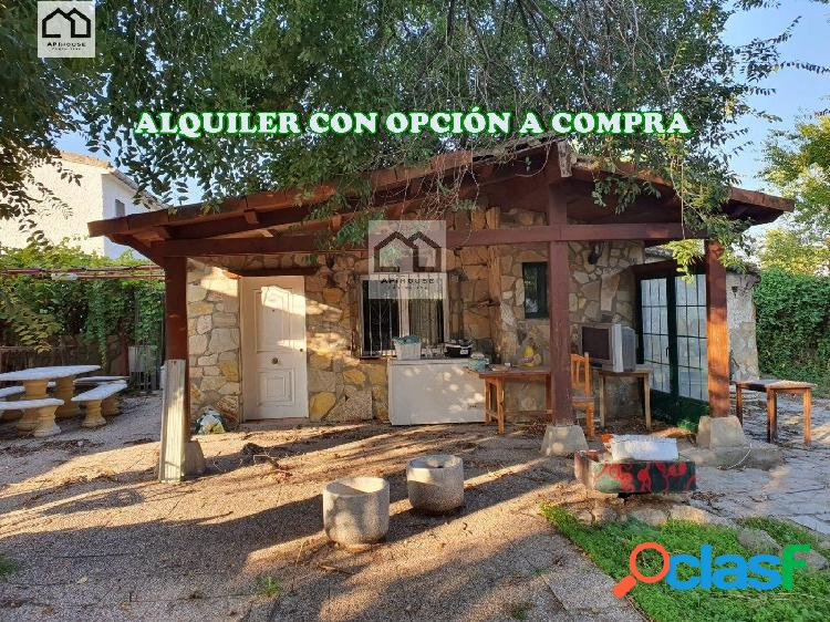 APIHOUSE ALQUILER CON OPCION A COMPRA CHALET INDIVIDUAL EN