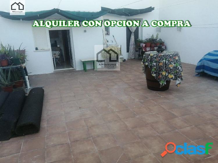 APIHOUSE ALQUILER CON OPCION A COMPRA ADOSADO EN TEMBLEQUE.